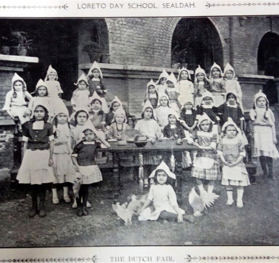 Loreto Day School, Sealdah – The Dutch Fair (1917)