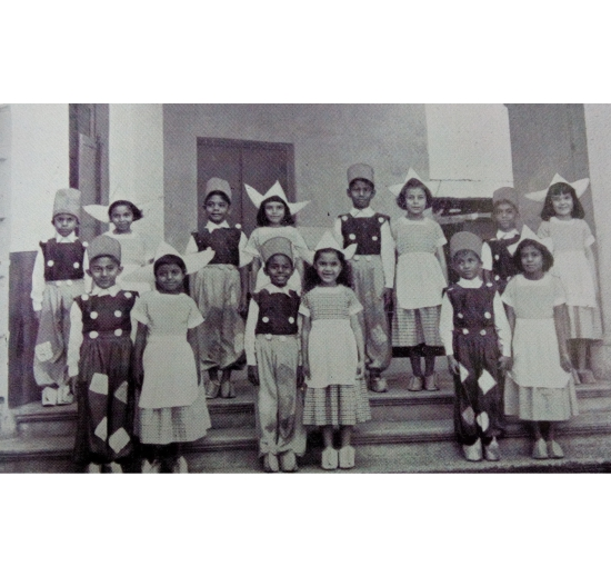 Kindergarten pupils of Loreto Day School, Sealdah(1952)